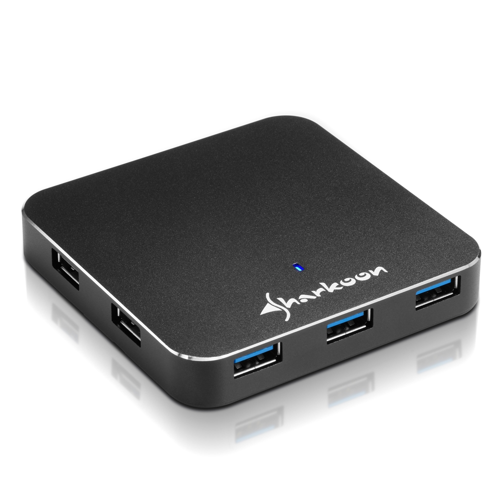 7-Port USB 3.0 Aluminium Slim Hub (1)